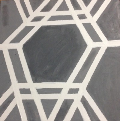#diy #painting #geometric #acrylic