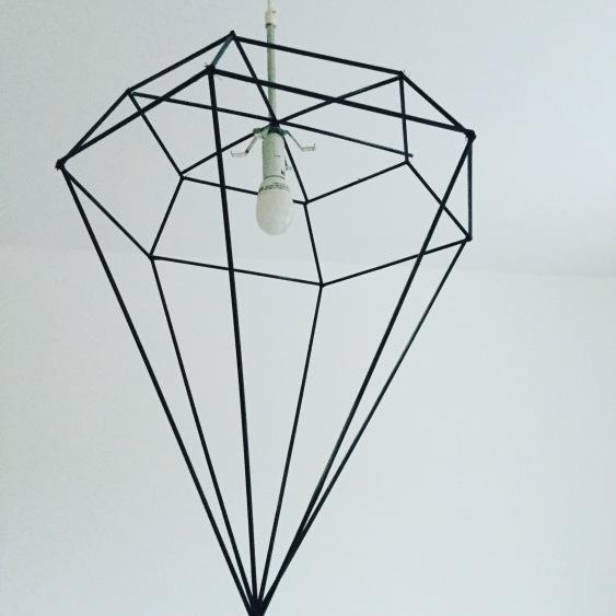 DIY DIAMOND DESIGNER LAMPSHADE PART 1