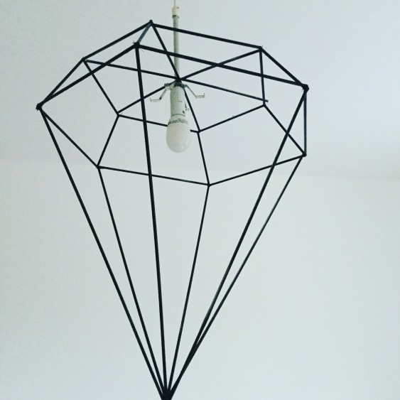 DIY DIAMOND DESIGNER LAMPSHADE PART 1