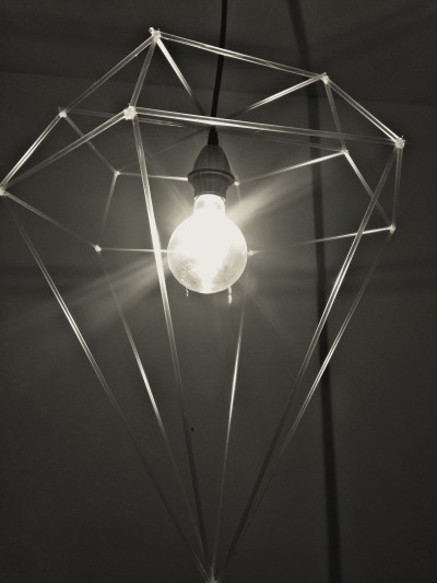 #diy #lampshade #lampdesign #diamond