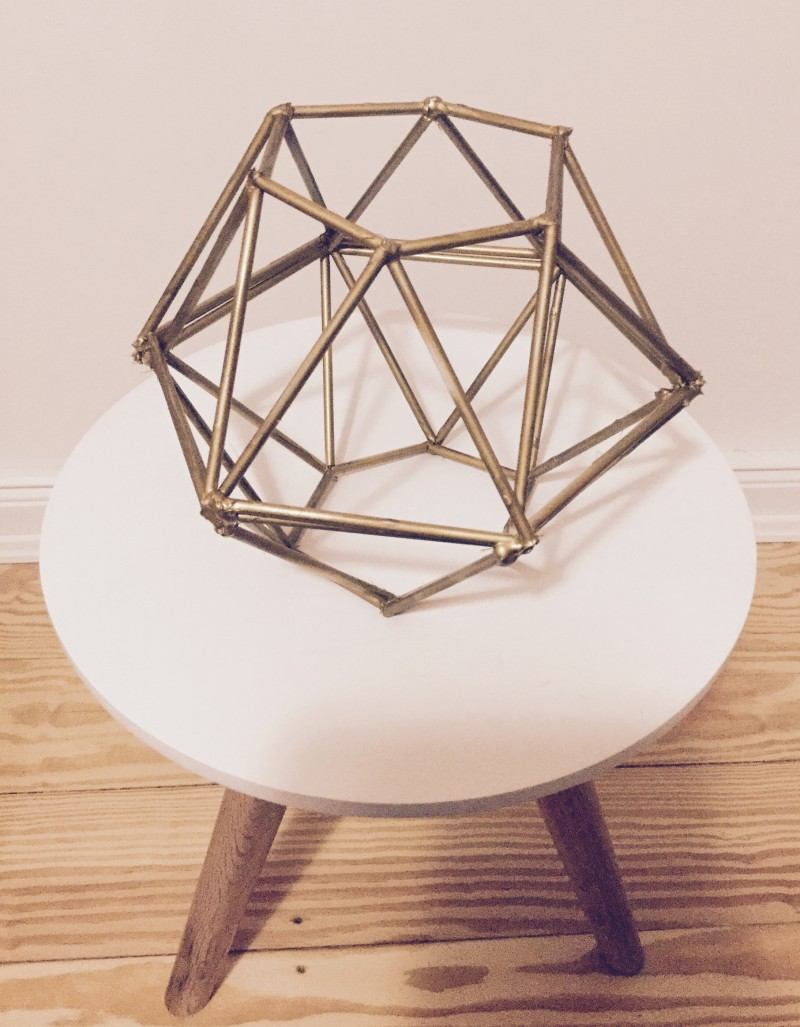 #DIY #DIAMOND #DESIGNER #LAMPSHADE #COLOURED #Gold