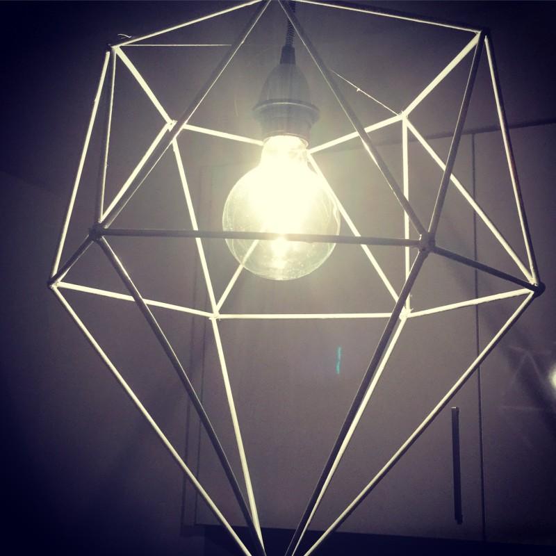 DIY Pendant DIAMOND white